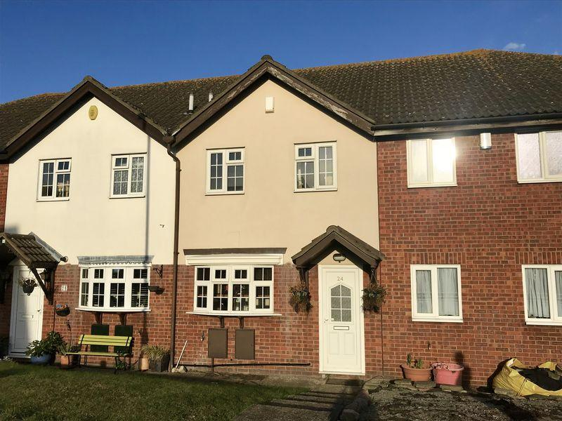 2 Bedrooms Terraced House for sale in Basing Drive, Bexley