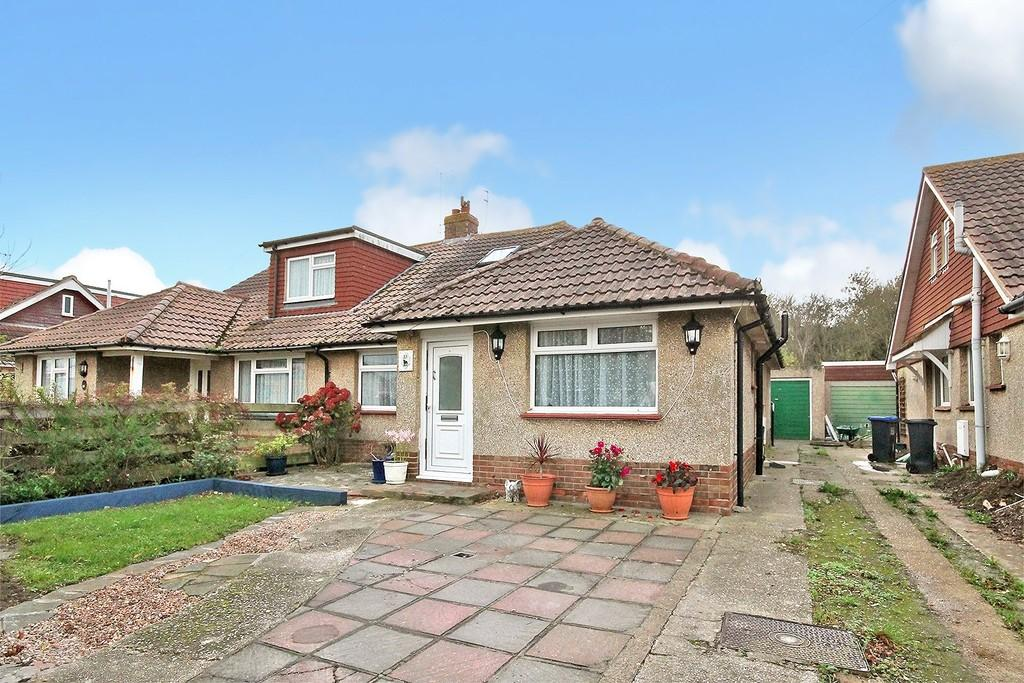 3 Bedrooms Semi Detached Bungalow for sale in Boundary Road, Lancing, BN15