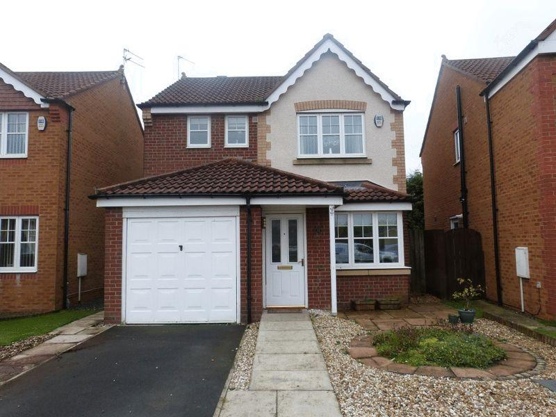 3 Bedrooms Detached House for sale in Parkside Court, Ashington - Three Bedroom Detached House