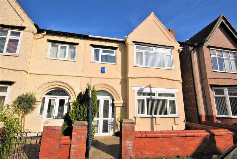 4 Bedrooms Semi Detached House for sale in Knowsley Road, Wallasey