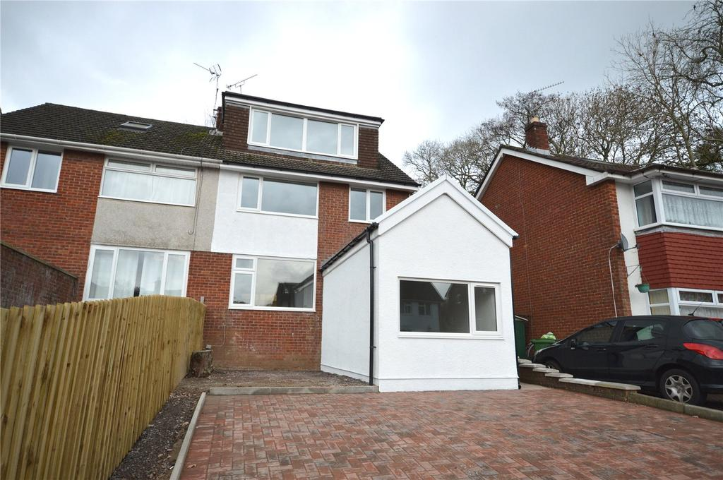 5 Bedrooms Semi Detached House for sale in Woolaston Avenue, Lakeside, Cardiff, CF23