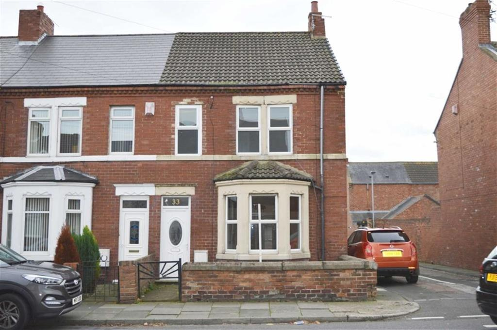 3 Bedrooms End Of Terrace House for sale in Newbiggin Road, Northumberland