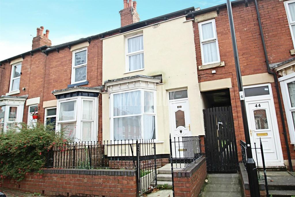 2 Bedrooms Terraced House for sale in Raby Street, Tinsley