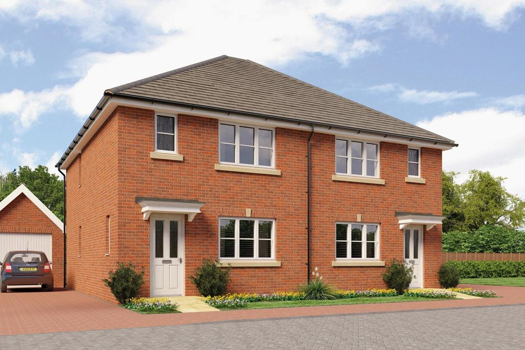 3 Bedrooms Semi Detached House for sale in Bader Heights, Tangmere, PO20