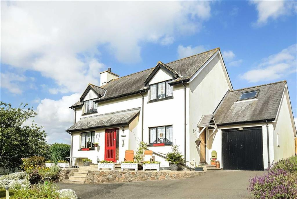 4 Bedrooms Detached House for sale in Butts Lane, Christow, Exeter, Devon, EX6