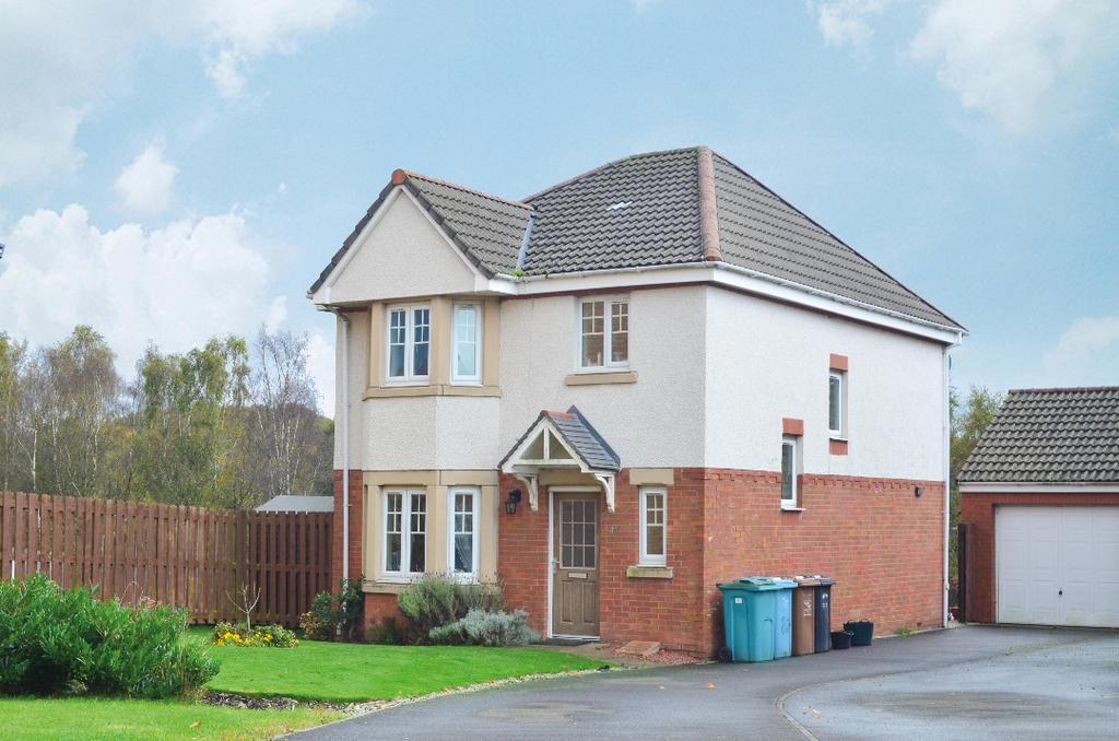 3 Bedrooms Detached House for sale in Sherwood Road, Glenboig, North Lanarkshire, ML5 2TF