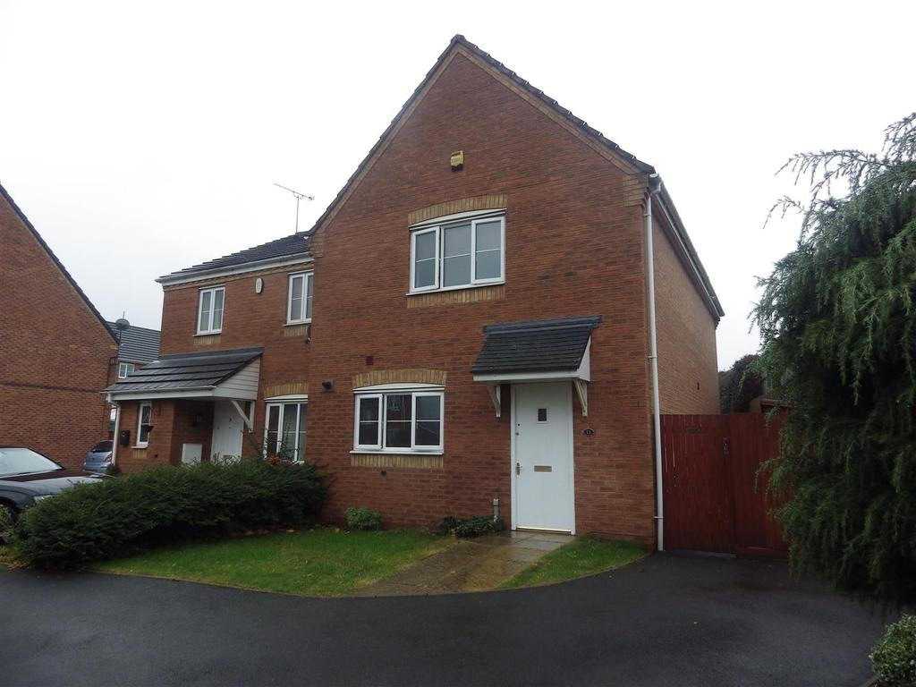 3 Bedrooms Semi Detached House for sale in Mapps Close, Halesowen