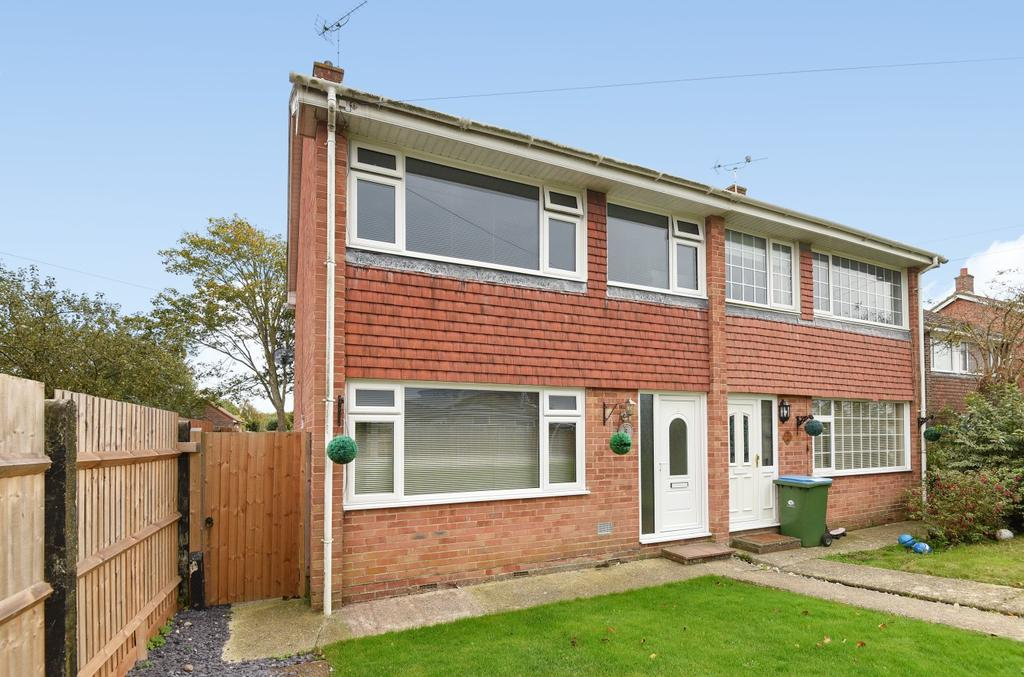 3 Bedrooms Semi Detached House for sale in Malvern Way, Nyetimber, Bognor Regis, PO21