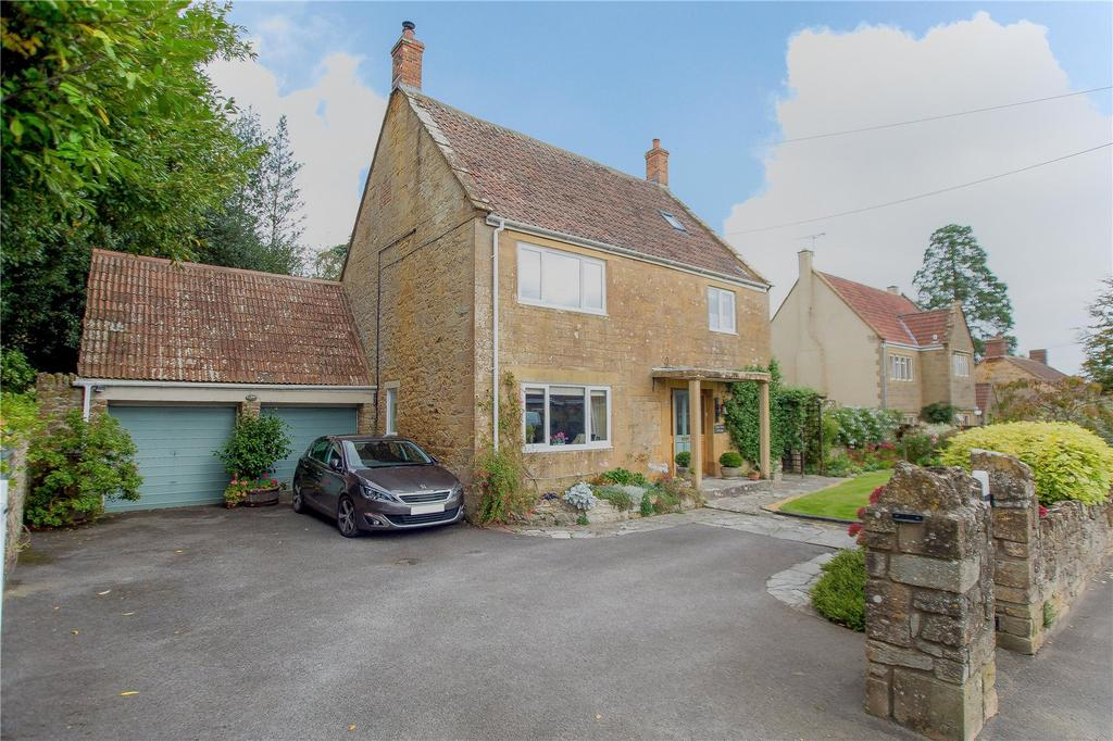 3 Bedrooms Detached House for sale in Main Street, Ash, Martock, Somerset