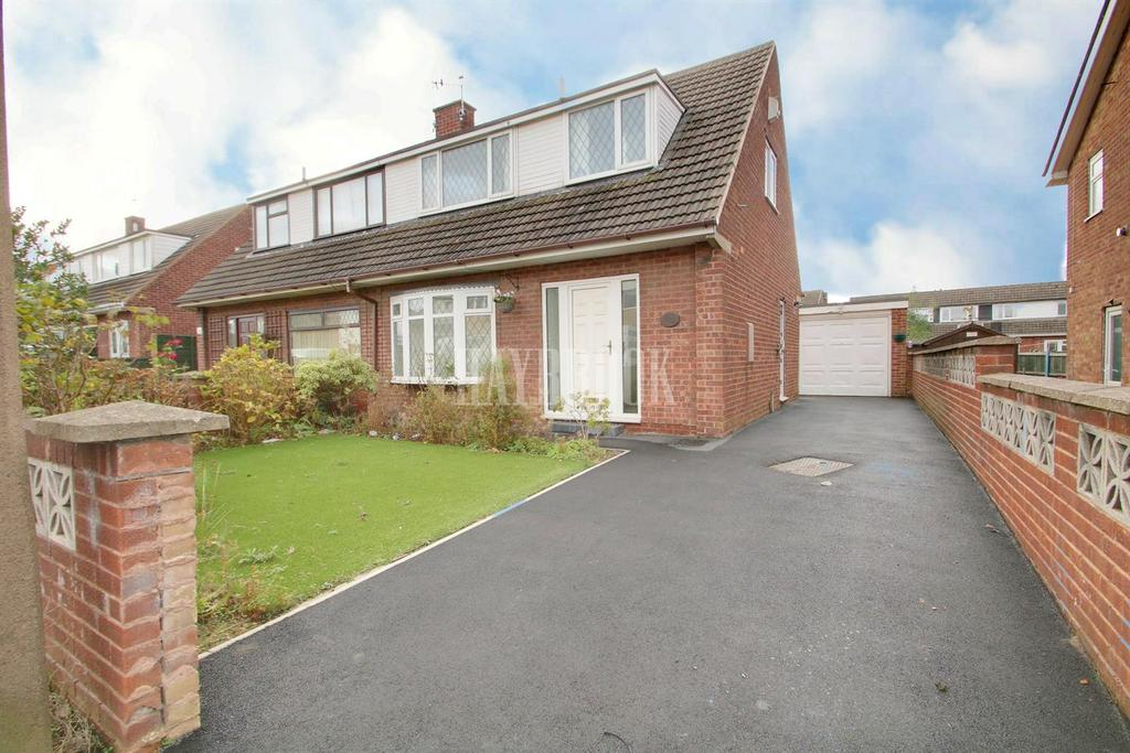 3 Bedrooms Semi Detached House for sale in Barden Crescent, Brinsworth