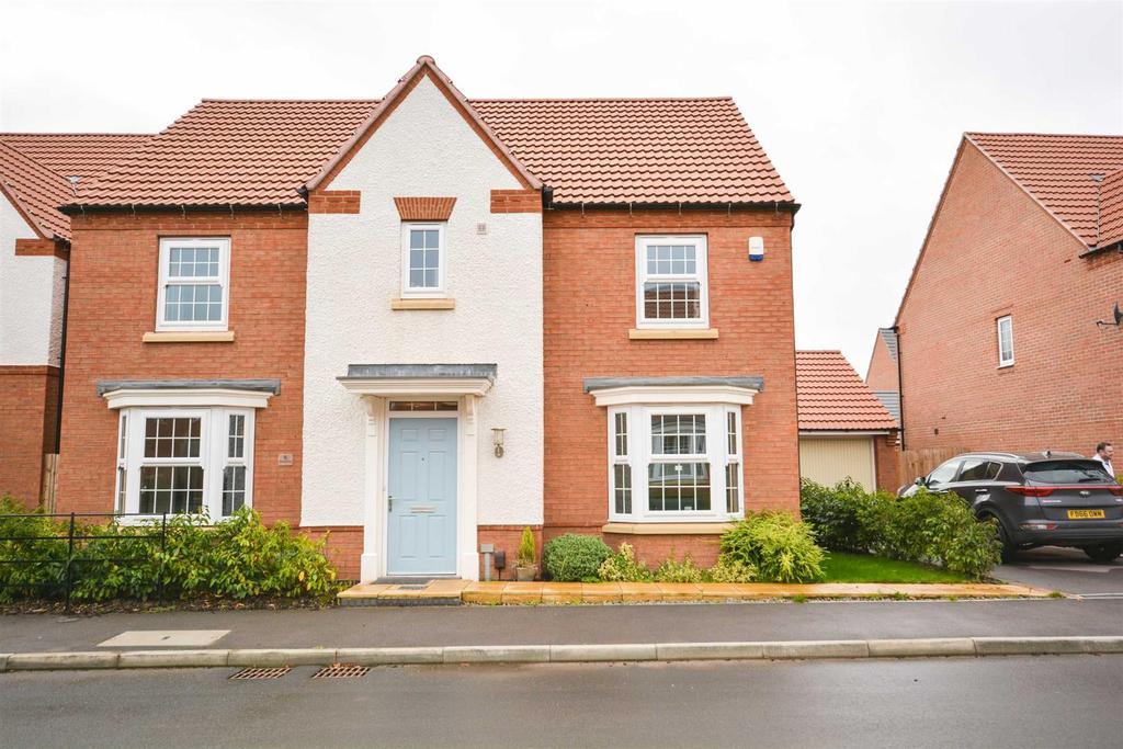 4 Bedrooms Detached House for sale in Harvest Drive, Cotgrave, Nottingham