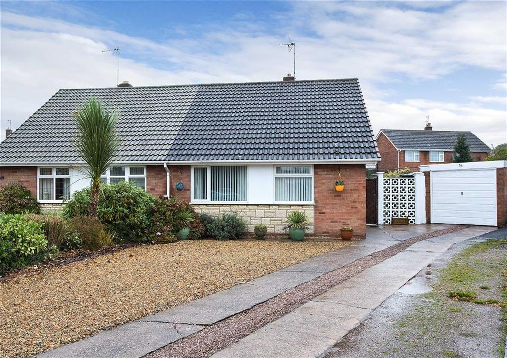 2 Bedrooms Semi Detached Bungalow for sale in 53, Jenks Road, Wombourne, Wolverhampton, South Staffordshire, WV5