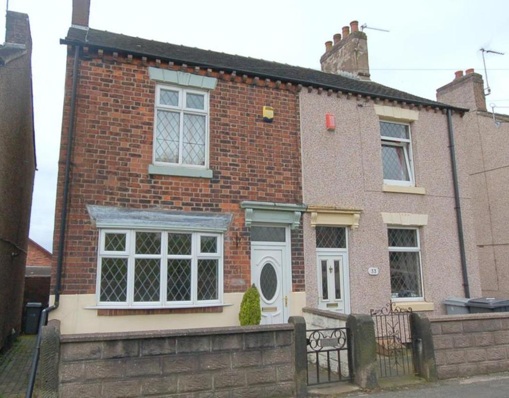 2 Bedrooms Semi Detached House for sale in Chapel Street, Mow Cop
