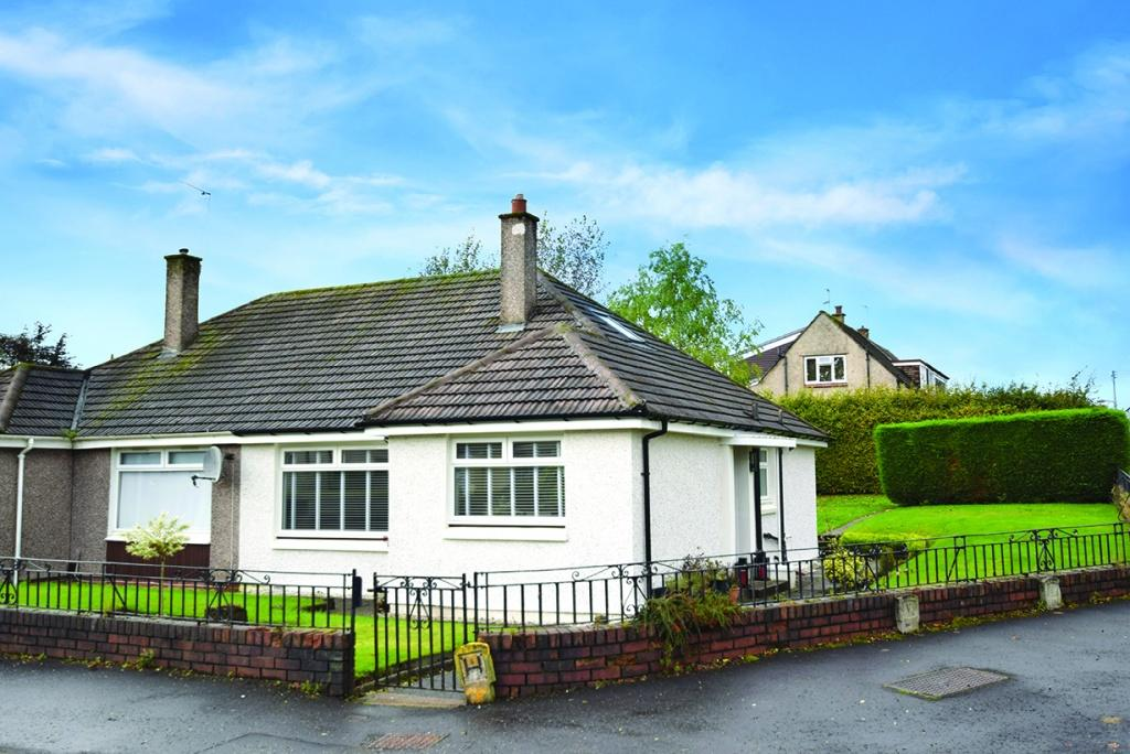 2 Bedrooms Semi Detached Bungalow for sale in 61 Melville Gardens, Bishopbriggs, G64 3DD