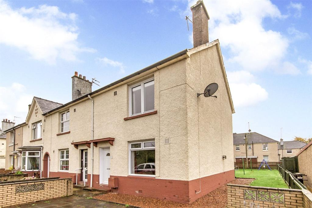 3 Bedrooms End Of Terrace House for sale in 53 Fulbar Road, Shieldhall, Glasgow, G51