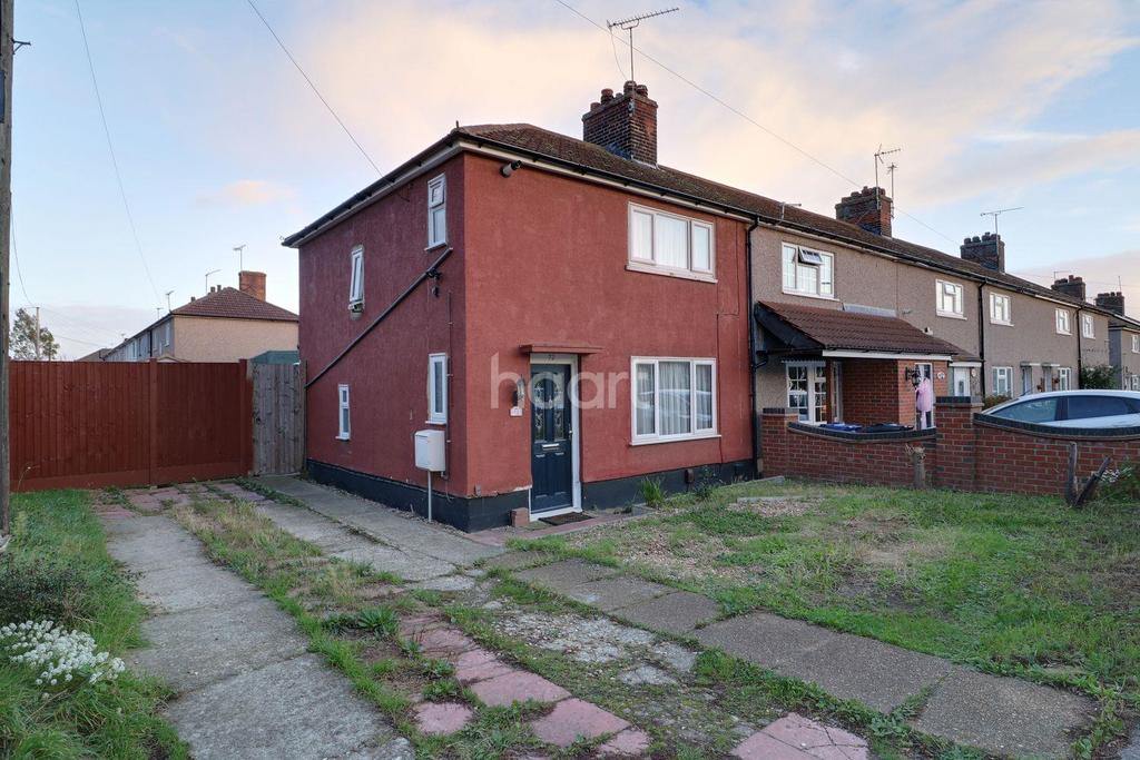 2 Bedrooms End Of Terrace House for sale in Lytton Road, Chadwell St Mary