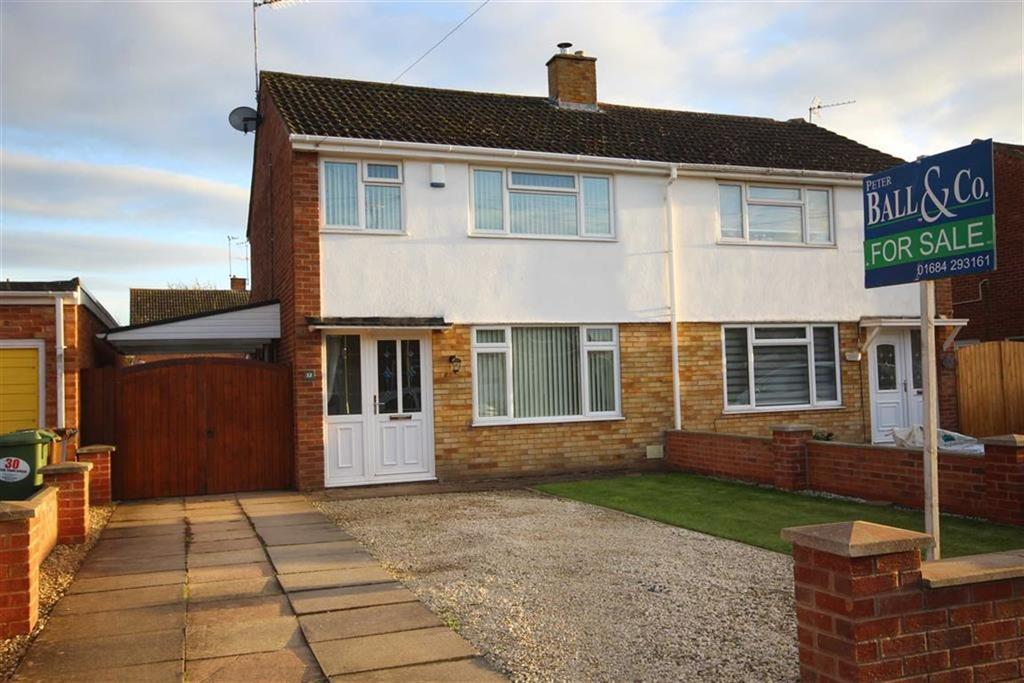 3 Bedrooms Semi Detached House for sale in Bramley Road, Mitton, Tewkesbury, Gloucestershire