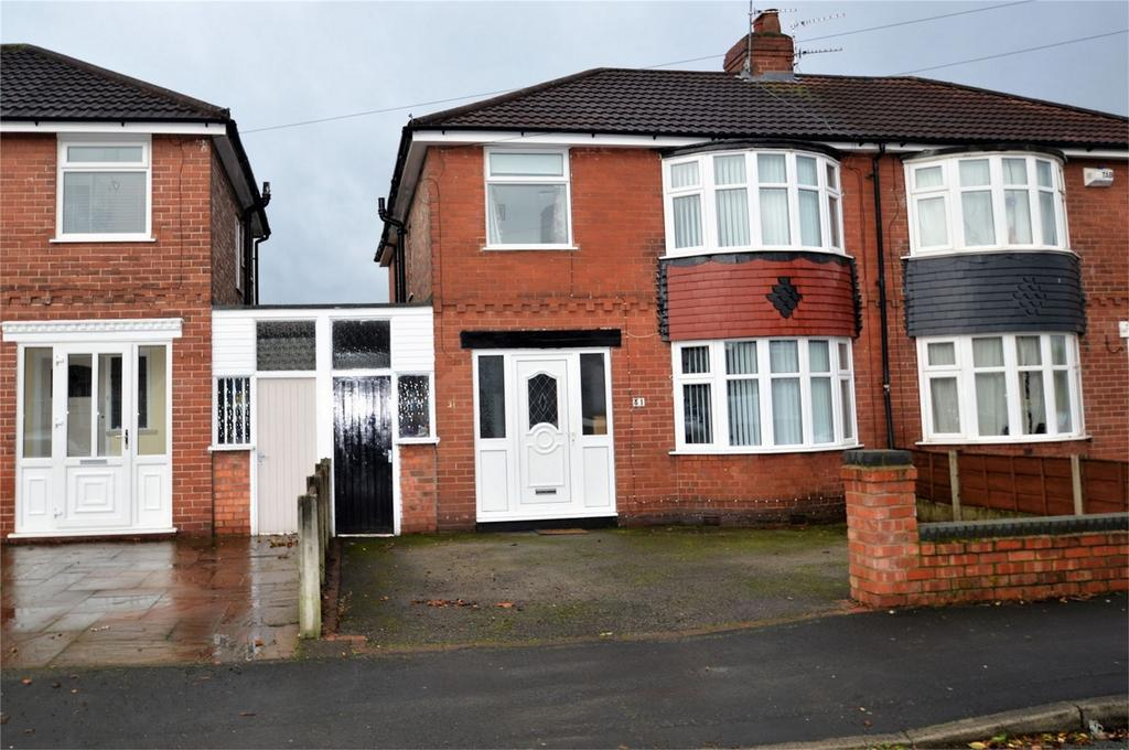 4 Bedrooms Semi Detached House for sale in Arderne Road, Timperley, ALTRINCHAM, Cheshire