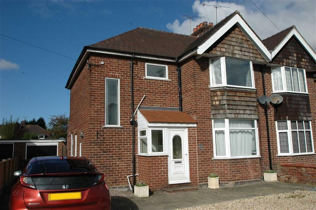 3 Bedrooms Semi Detached House for sale in Belgrave Road, Boughton, Chester