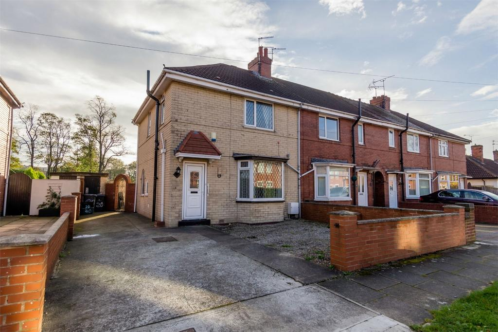 3 Bedrooms End Of Terrace House for sale in Rowntree Avenue, York
