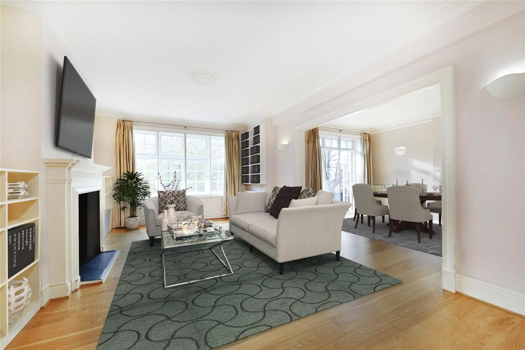 3 Bedrooms Flat for sale in Clifton Court, Maida Vale, London