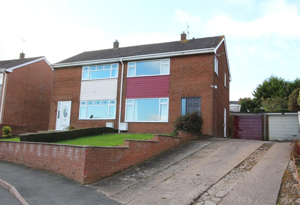 3 Bedrooms Semi Detached House for sale in Bryn Drive, Coedpoeth, Wrexham, LL11