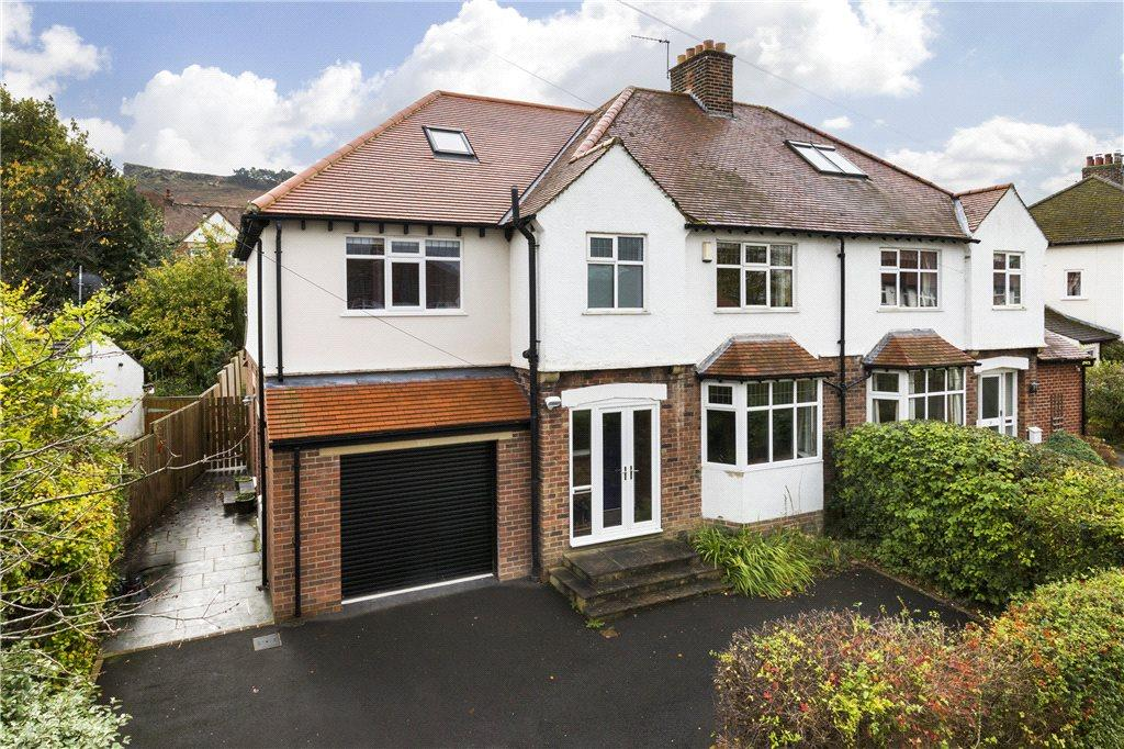 6 Bedrooms Semi Detached House for sale in Parklands, Ilkley, West Yorkshire