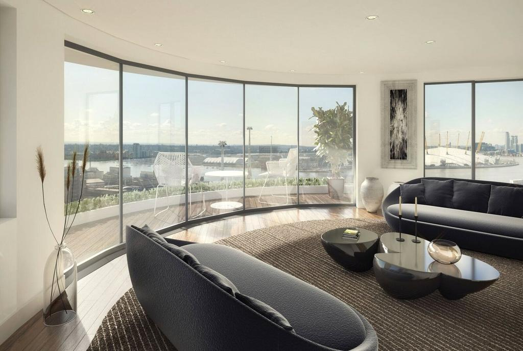 2 Bedrooms Flat for sale in Tidal Basin Road, Royal Victoria Dock, London, E16