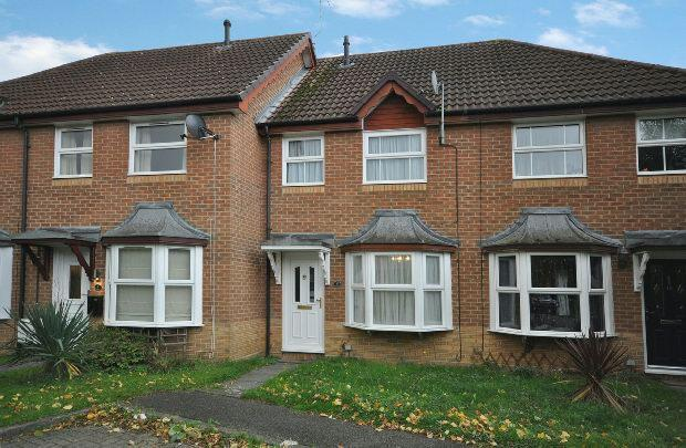 2 Bedrooms Terraced House for sale in Blanchard Close, Woodley, Reading,