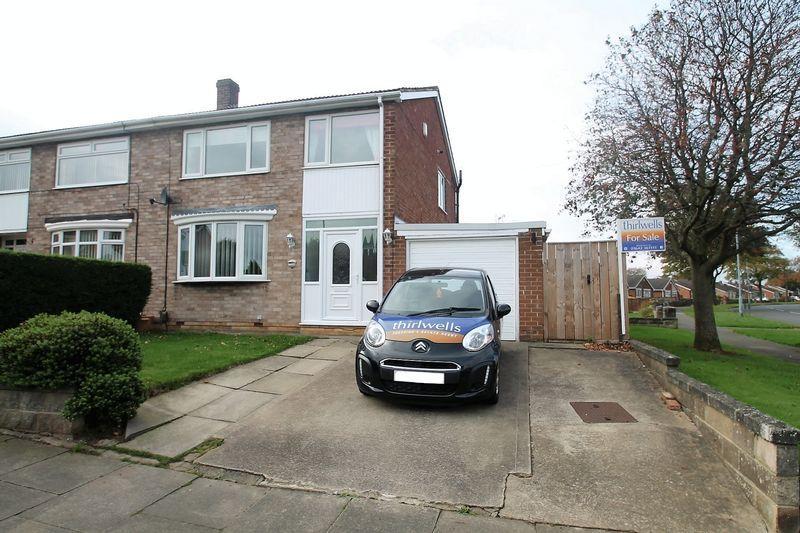 3 Bedrooms Semi Detached House for sale in Marton Drive, Billingham