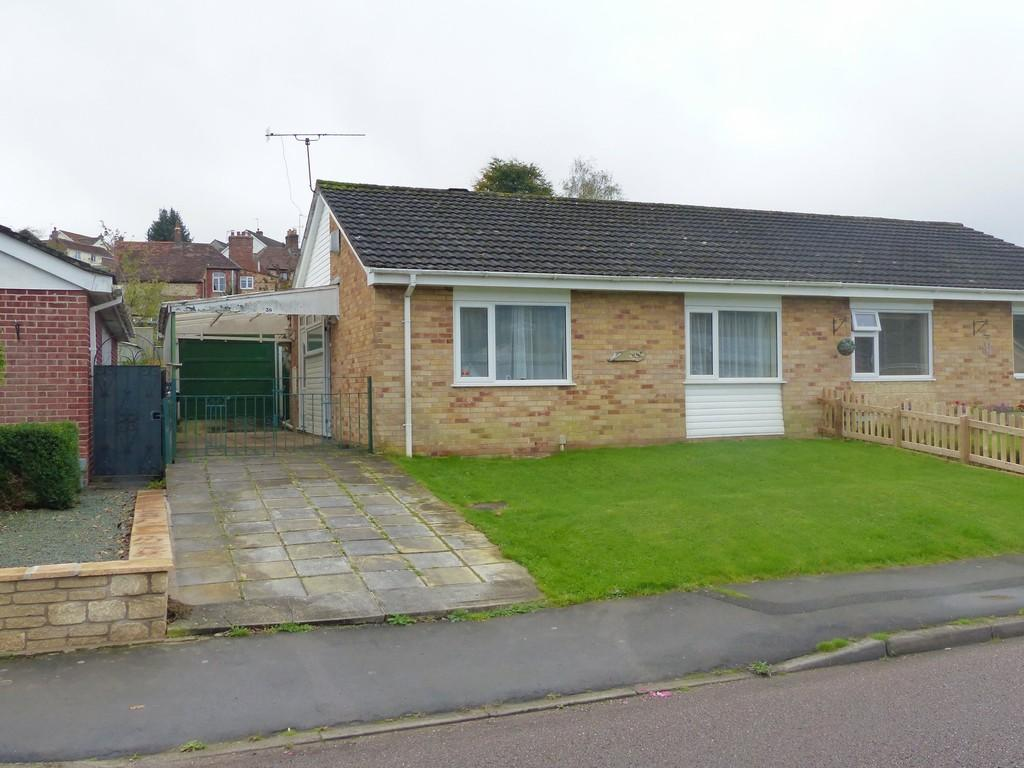 2 Bedrooms Semi Detached Bungalow for sale in Wylye Road, Warminster