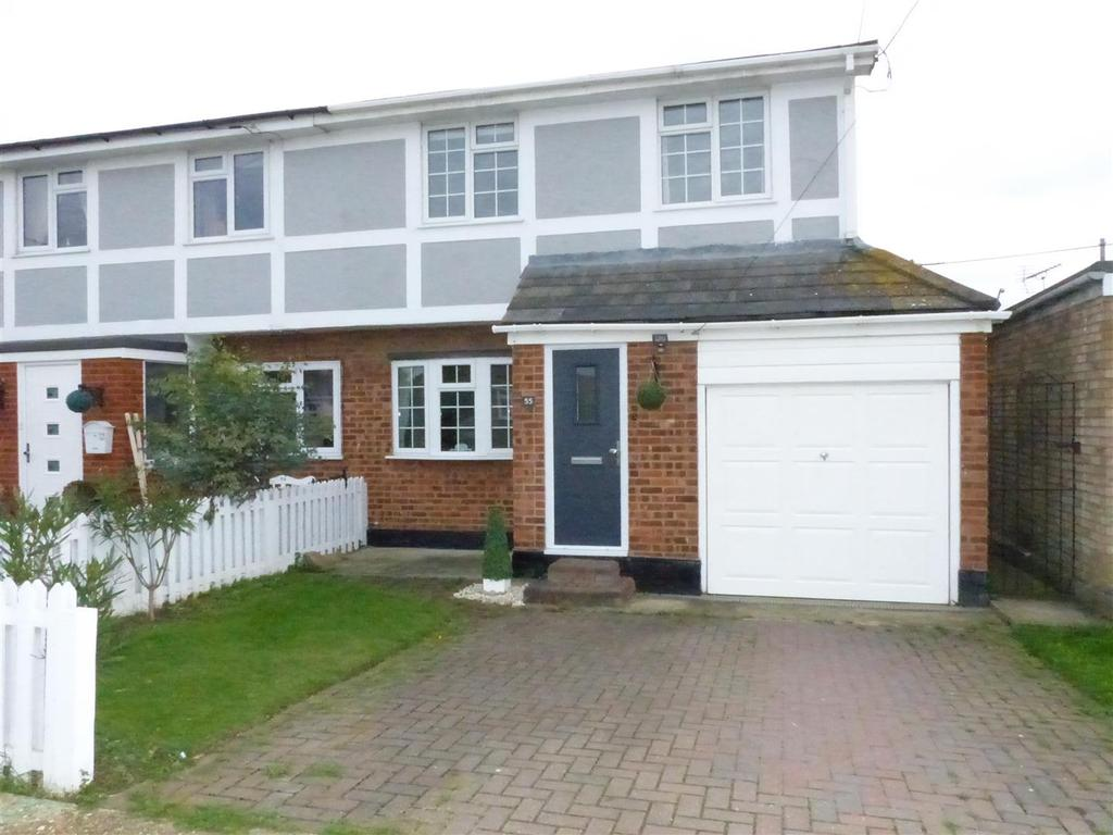 3 Bedrooms Semi Detached House for sale in Kitkatts Road, Canvey Island