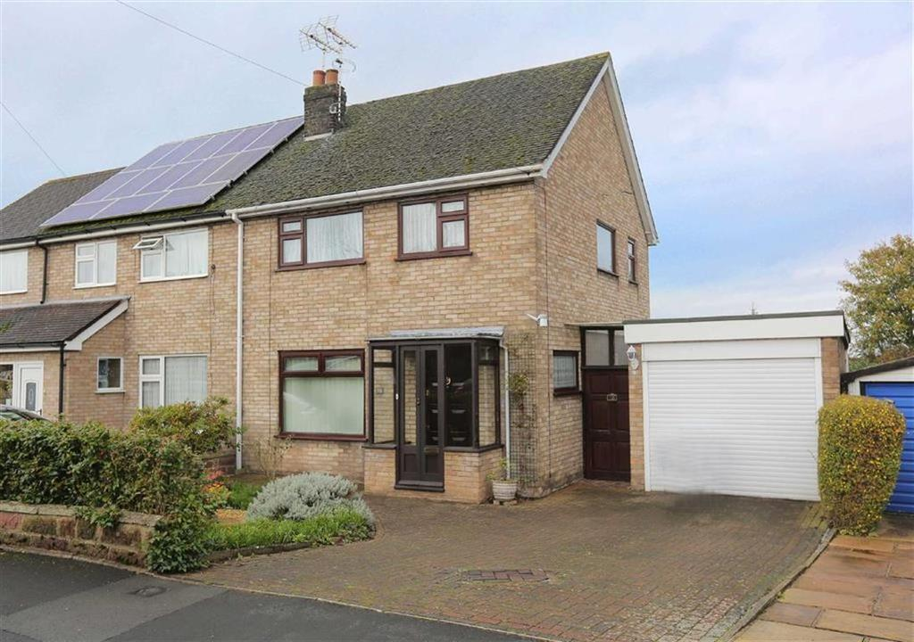 3 Bedrooms Semi Detached House for sale in Highfield Drive, Nantwich, Cheshire
