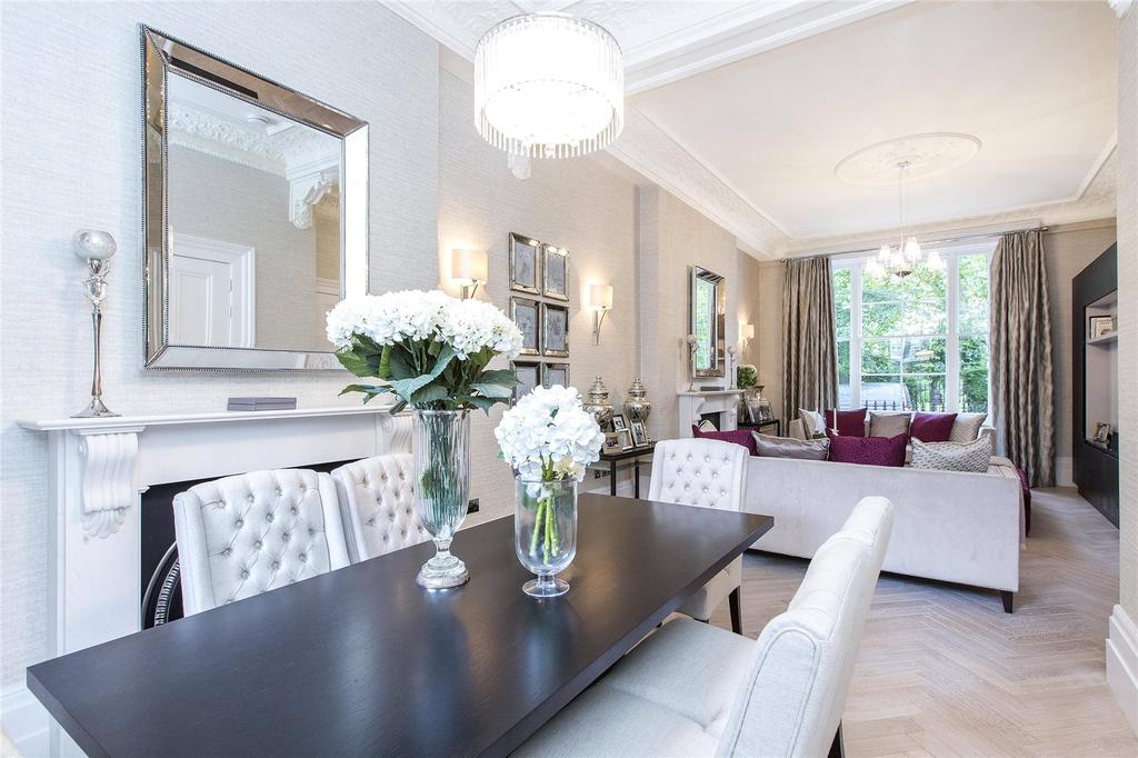 2 Bedrooms Maisonette Flat for sale in Kensington Gardens Square, London, W2