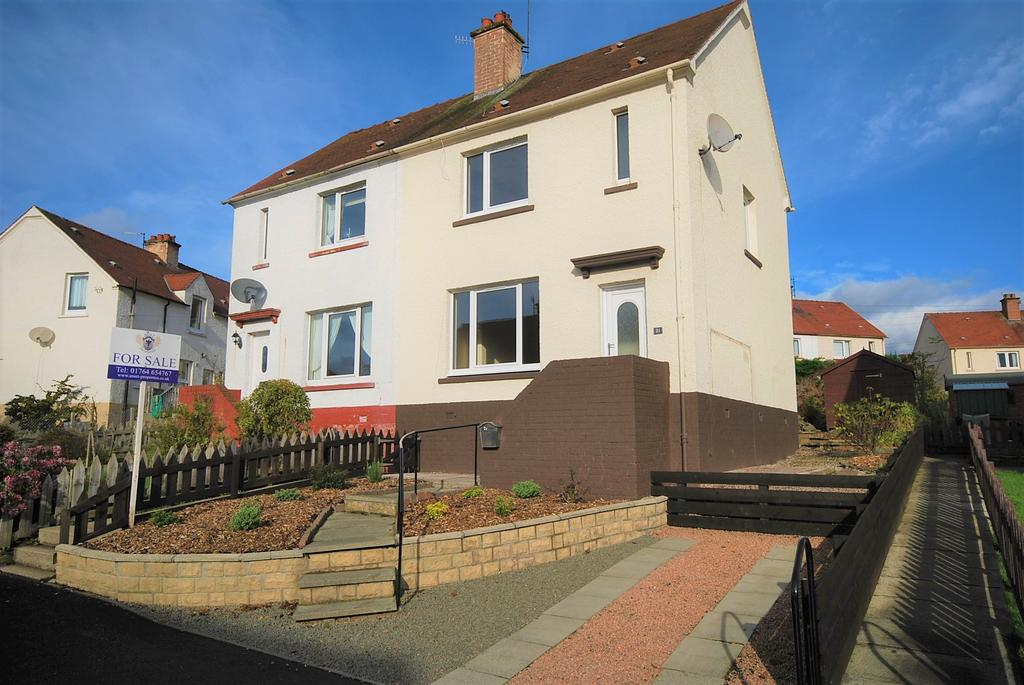 2 Bedrooms Semi Detached House for sale in Aligan Road, Crieff PH7