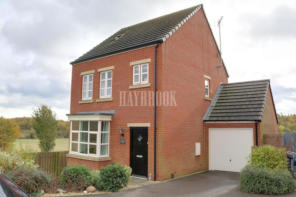 4 Bedrooms Detached House for sale in Lambrell Green, Kiveton Park