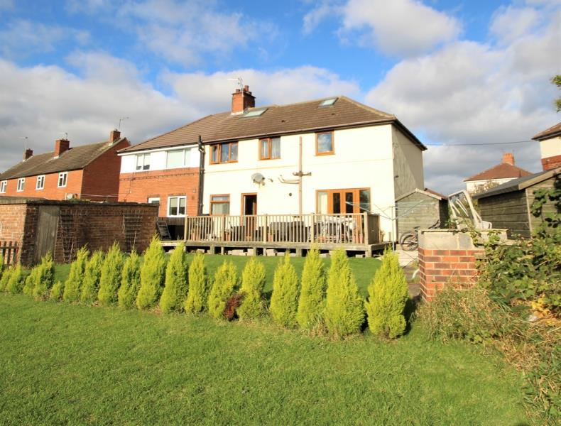 4 Bedrooms Semi Detached House for sale in GROVE CRESCENT SOUTH, BOSTON SPA, WETHERBY, LS23 6AY