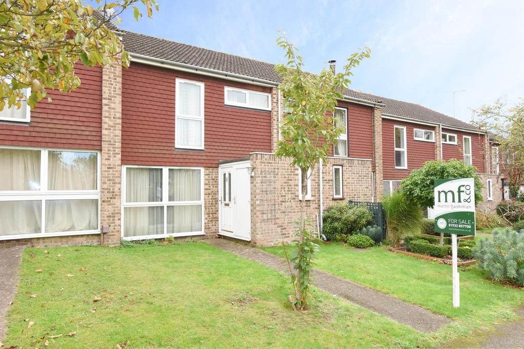 3 Bedrooms Terraced House for sale in Hanger Hill, Weybridge, Surrey, KT13