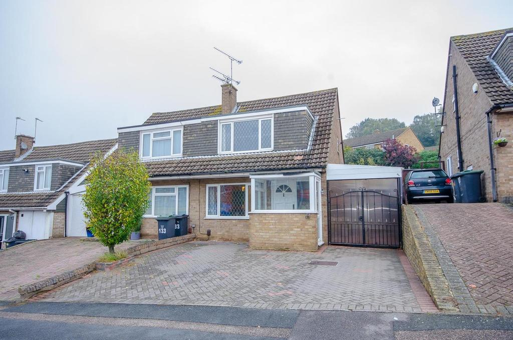 3 Bedrooms Semi Detached House for sale in Woodlands Road, Aylesford, Kent