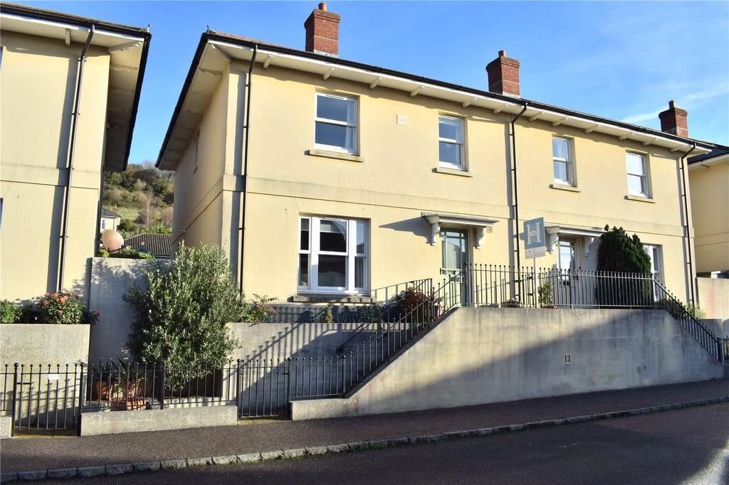 3 Bedrooms Semi Detached House for sale in Houndsell Way, West Allington, Bridport, Dorset