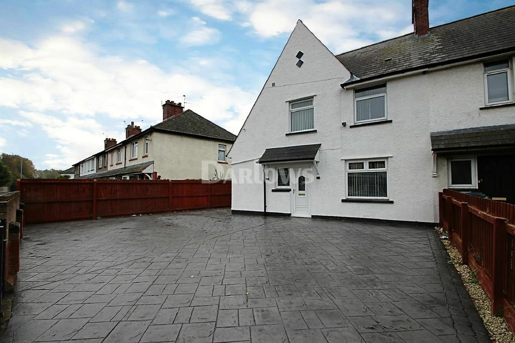 3 Bedrooms End Of Terrace House for sale in Whitaker Road, Tremorfa, Cardiff