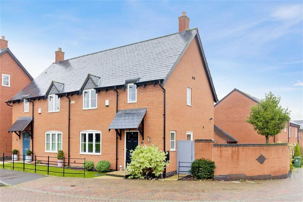 3 Bedrooms Semi Detached House for sale in Armitage Drive, Rothley, LE7