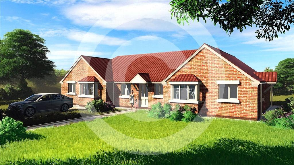 2 Bedrooms Terraced Bungalow for sale in Poplar Close, Ruskington, Sleaford, Lincolnshire, NG34