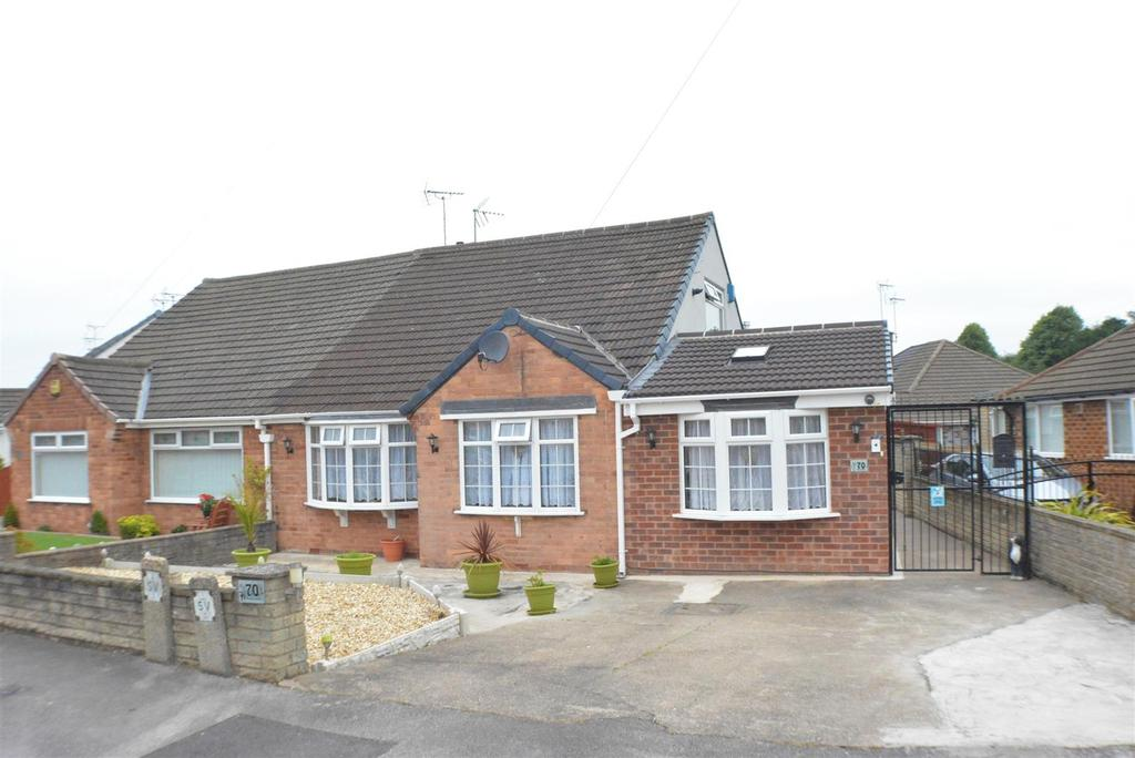 3 Bedrooms Semi Detached Bungalow for sale in Marples Avenue, Mansfield Woodhouse, Mansfield