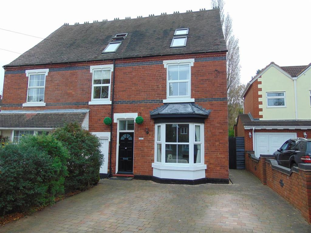5 Bedrooms Semi Detached House for sale in Whetstone Lane, Aldridge