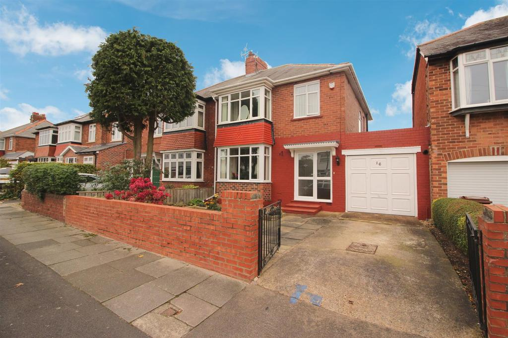 3 Bedrooms Semi Detached House for sale in Benton Lodge Avenue, Newcastle Upon Tyne
