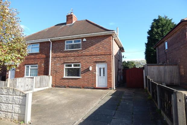 3 Bedrooms Semi Detached House for sale in Ryecroft Street, Stapleford, Nottingham, NG9