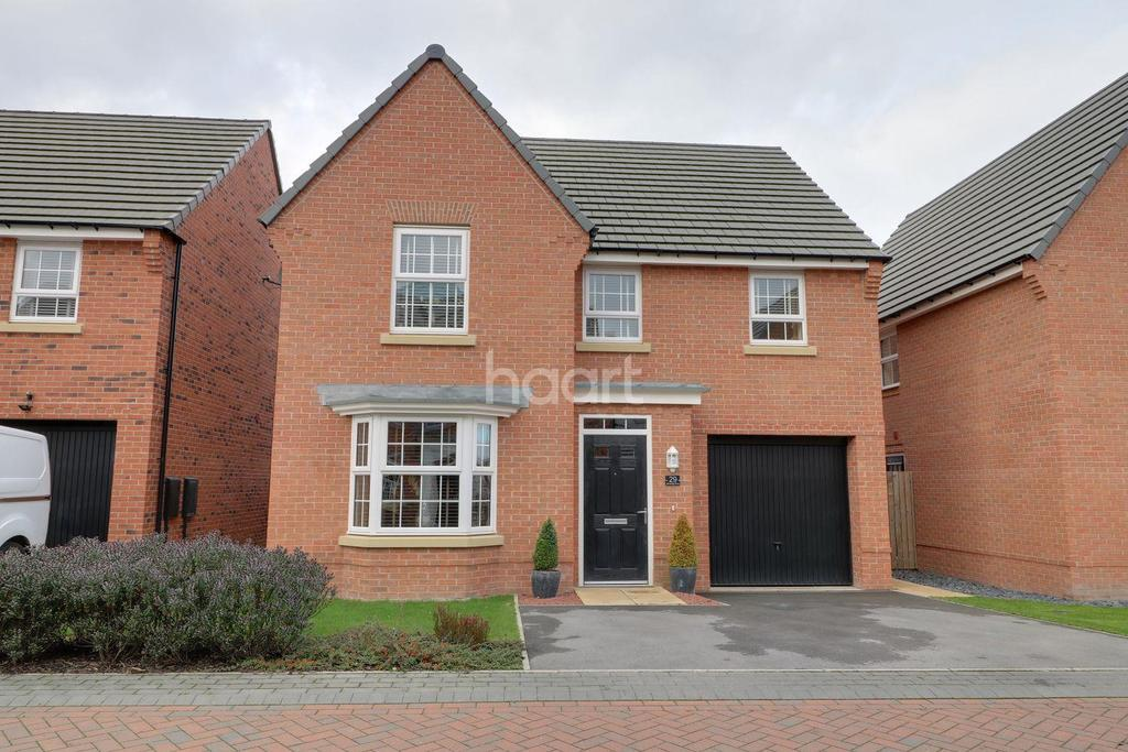 4 Bedrooms Detached House for sale in Beckfield Rise, Auckley, Doncaster