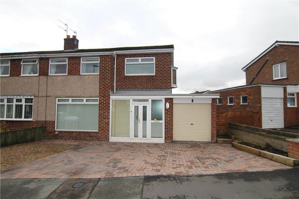 3 Bedrooms Semi Detached House for sale in Moor Crescent, Gilesgate Moor, Durham, DH1