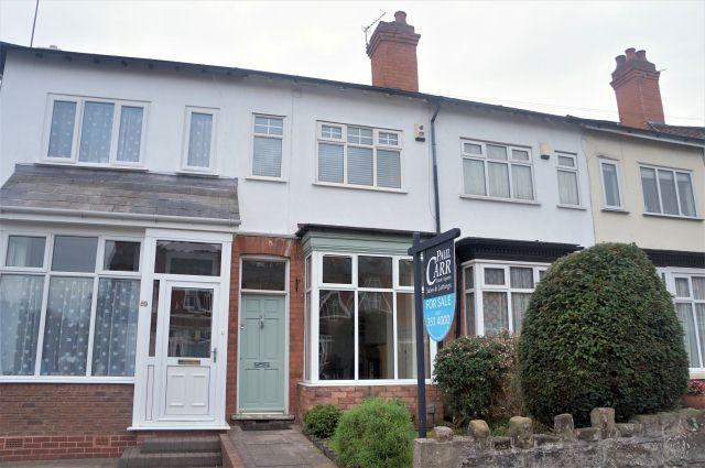 2 Bedrooms Terraced House for sale in Harman Road,Sutton Coldfield,West Midlands